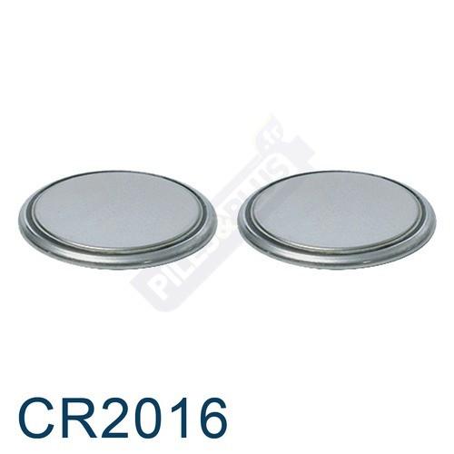 Pile bouton CR2016 - pile lithium Energizer - 3V - par 2
