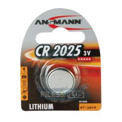 Pile Bouton CR2025 Lithium - 3V