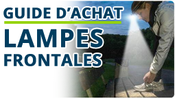 Comparatif - Lampes frontales